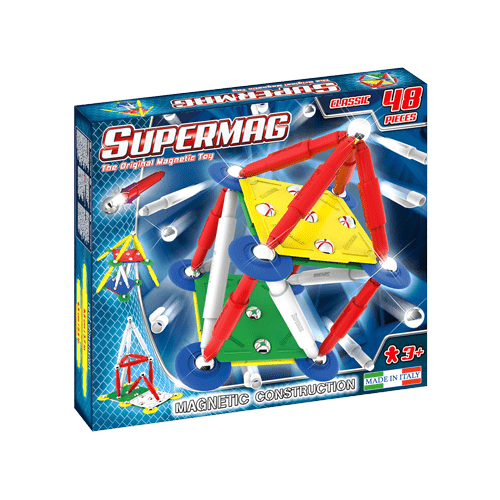 BOX 3D SUPERMAG CLASSIC PRIMARY 48 pcs-min